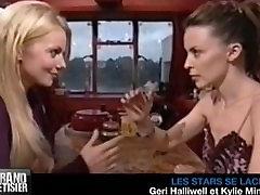 Kylie Minogue & Geri Halliwell bangla naika xvideo com kiss