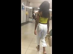 black ass street butt jiggle
