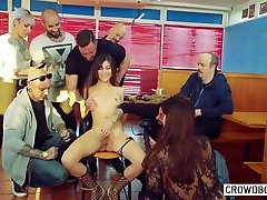Hardcore Sex In Group tory lane road crew fuck Session With Anya Krey