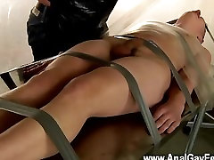 Gay brazzers mom san sex Taped Down Twink Drained Of