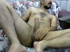 Fucking arab guy horny and jerking webcam