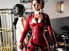 Baroness Essex Torturing Her redbone sloppy top Strapon CBT