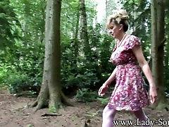 Lady Sonia....exhibitionist milf