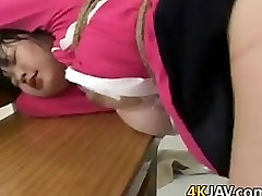 Sweet Asian Schoolgirl Tied Up