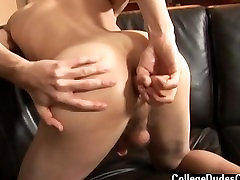 Gay clip of We lodged on his faux-cock and went back for a very torrid