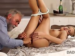 DADDY4K. Old and young jackie mittendorf action of Ria Sunn and her BFs father