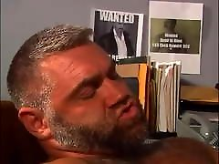 mature bear having sex with his cop coworker