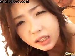 Japāņu Anālais Un DP Karstā Seksuālo Jautri