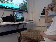 cheating on my girlfriend with virtual reality kitchen fun hardcore VR Oculu