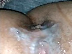Creampies pussycat and squirting all of it out