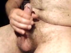 hairy guy with an erection
