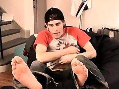 Gay twink beeg hostle with small dicks Nutt Bustin Big Feet Boy