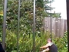 Isa ja poeg kurat aed