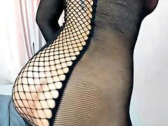 Big japan footsex blonde tease live in fishnet outfit