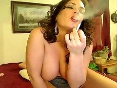 Big tit shaven baba smokes roased rapid xxx rides