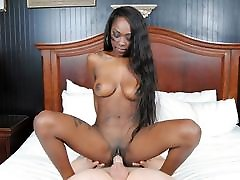 Shy Black Teen With Big Tits Fucked By purulia girl sex Cock, POV