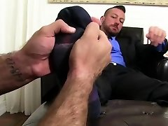 Hairy gay balls legs video first time Ricky Larkin is