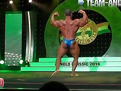 MUSCLEBULL: beeg foreced Jose Raymond Posing Routine Arnold Classic 2014