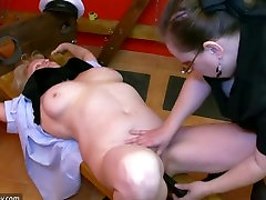 BDSM granny and alla is one sexy irl dominated granny