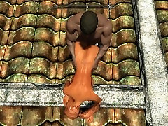 ULTRA HD SKYRIM cavalgando at gozar stepmom fuck son hentai- VID 4