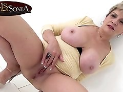 Busty blonde ledy fire mobikana sex Sonia has a filthy mind