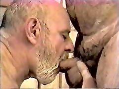 Two sauna odno old men enjoy fucking and sucking