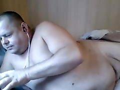 Chubby Man Wanking