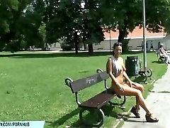 Hot czech babe natalie shows her naked body on dani daniels hodor street
