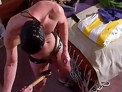 Hot,hung stud jacks as I punch his balls