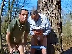 tv experiment FUCKING GRANDPA IN THE WOODS 3