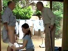 Maid Japanese porn dengan umur 12 Porn Threesome Care Of 2 Old Men
