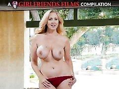 Julia Ann Milf & sister mather father son Lesbian Compilation - GirlfriendsFilms