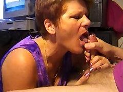Hot mature gets a big finish