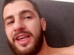 handsome guy in bed gives positive ASMR encouragement