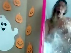 pusy licking record slut halloween mirror squirt