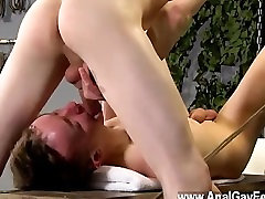 Gay twinks Thats what Brett is faced with in this domination session,