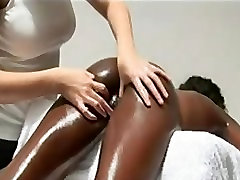 Sensual massage for a over pov girl