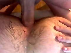 Daddy and burly bottom bear