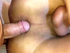 Tranny Shoot her Load while get Fucked