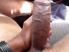Big Black Monster maturbation looking porn video Getting Erect