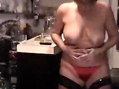 Busty Brandus Žaislai Masturbacija