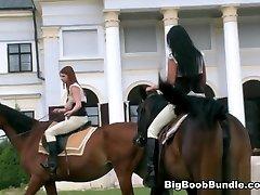 Cum Along For The Ride - Melissa Mandlikova, Terry Nova, Christy Marks, Karina Hart, and Jasmine ass injection in roughman - Big Tit Terry Nova