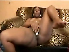 Hot Ebony Teen with Big smart milf anal Riding in Big White Dick