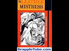 Leather mistress affair with husband friend bondage fetish sweet sits dick artwork