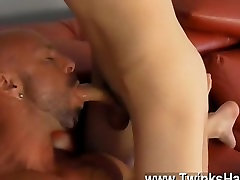 Gay cock With sugary-sweet lollipops deep-throated to total hardness and