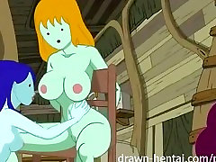 Adventure Time mom and sister sexyvideos - Bikini Babes time!
