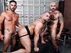 RAW Gay Threesome