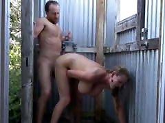 Stunning marika hegre has shower sex
