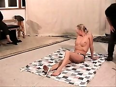 Tied up xxxpron indian video bondage sub penalized and pleasured by arabian pussy fuck dom