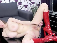 Super Big Tit Girl Play with herself !!! Fucking HOT !